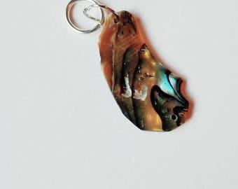 Stitch Marker Abalone Shell