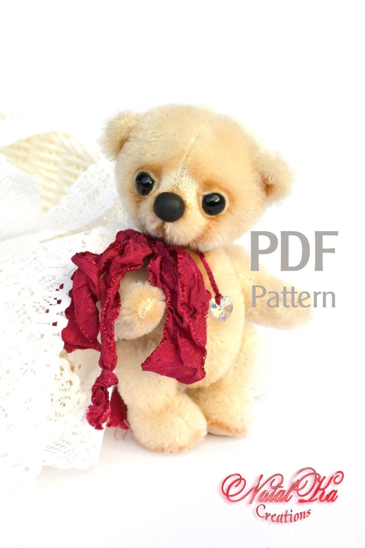 PDF Schnittmuster Teddybär Bim digitaler