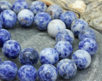 Denim Lapis Lazuli 6, 8, 10 mm / Lapis Beads / Denim Blue Lapis Gemstone Beads / Round Denim Lapis Beads / Natural Lapis Beads