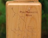 PERE MARQUETTE River Map ...