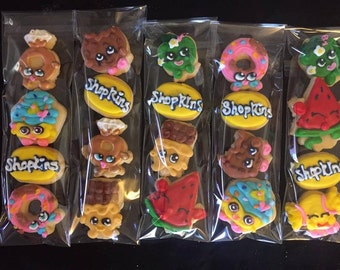 Shopkins Themed Cookie Sleeves
