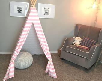 Teepee, kids Teepee, tipi, play tent, Teepee tent, Children's Teepee, tent, play Teepee, playhouse.