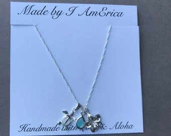 Honu Charm Necklace