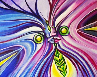 "Butterfly Kiss 8x10"" Giclee"