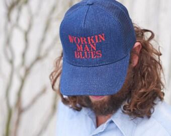 Working Man Blues Trucker Hat