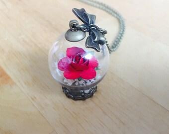 Valentine's Day terrarium Ecosphere flower Flower Dome Fairy garden vase glass dome miniature small garden