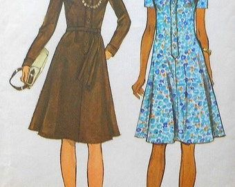 Vintage Dress Sewing Pattern UNCUT Simplicity 6155 Size 12