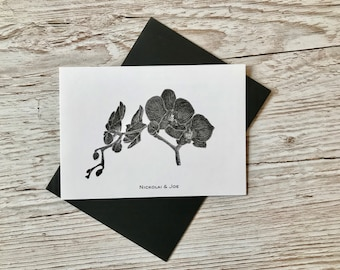 Orchid Notecard / Postcard