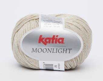 Moonlight cotton Katia wool beige 52