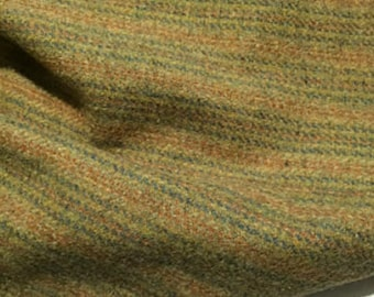 Huckleberry Stripe, Felted Wool for Rug Hooking, Wool Applique and Crafts