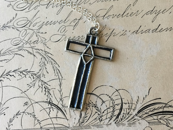 Cross Pendant Necklace, Cross Jewelry, Meaningful Gifts