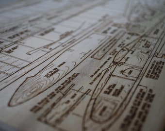 Plane Hand-Made Woodburn of Detailed Build Plans