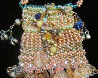 Fall Of Deep Beauty Amulet Bag