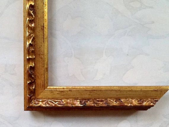 Vintage Gold Picture Frame Picture Frame Custom Picture
