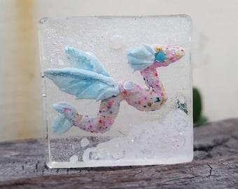 Flying Dragon Resin Pendant