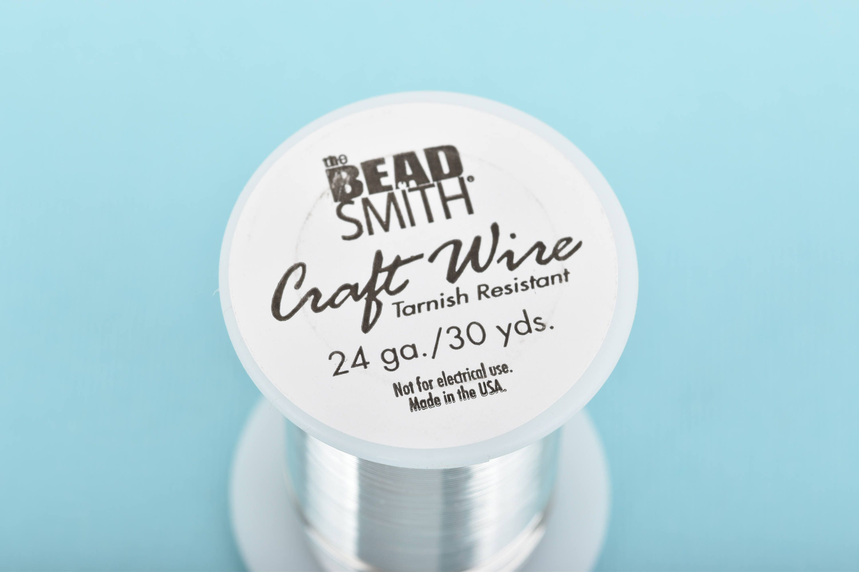 Silver CRAFT WIRE, Tarnish Resistant Craft Wire, wire wrapping, 24 ...