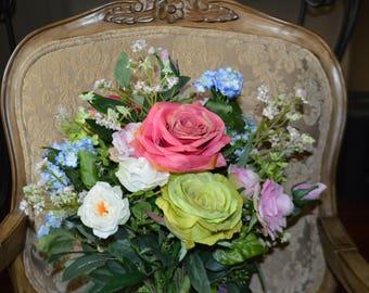 Bohemian Bouquet, Garden Fresh Bouquet,Blush Bouquets, Bridal Bouquet, bouquet, BOHO bouquet, wedding bouquet