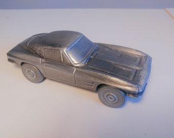 Vintage Metal 1974 Banthrico Car Piggy Bank