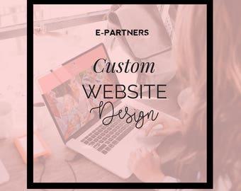 Custom Website Design |  Wordpress | Squarespace | Blog Design