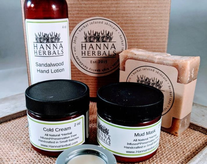 Featured listing image: 3 Month Subscription Box - monthly box - Sandalwood Amber - summertime box - subscription box - herbal skincare box