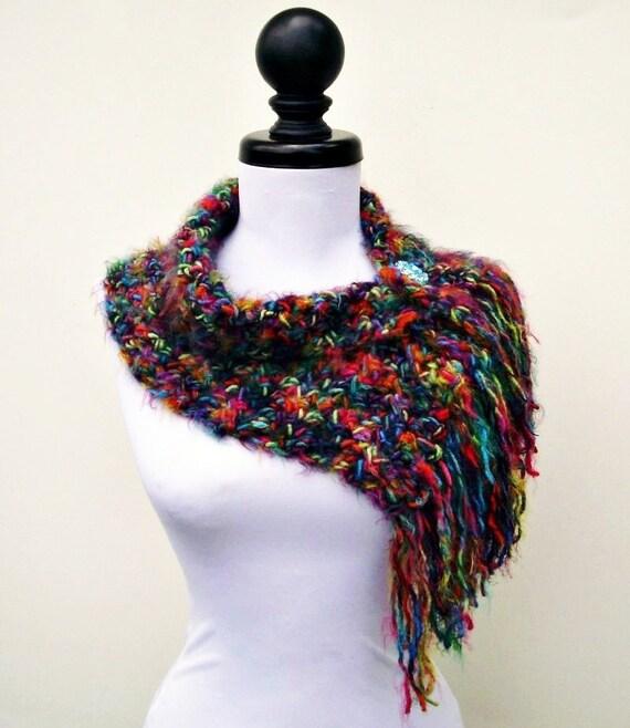 Instant Download Crochet PATTERN PDF - Crochet Cowl Scarf - Scarflette Cowl Pattern - Womens Scarf Pattern Womens Accessories