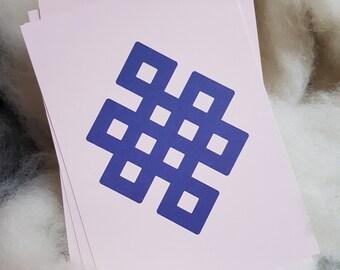 SOLMU Karte/Card– Buddhismus – Buddhism – Grußkarte – Greetingcard – Berlin