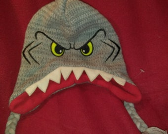 Adorablely Scary Shark Hat