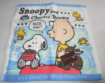 Snoopy & Charlie Brown Hand Towel (35 * 35cm)
