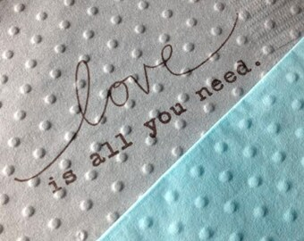 Wedding Napkins - Love is All You Need - Bridal Shower Napkins - Rustic Theme - Baby Shower - Beatle's Party - Birthday - Rehearsal Dinner
