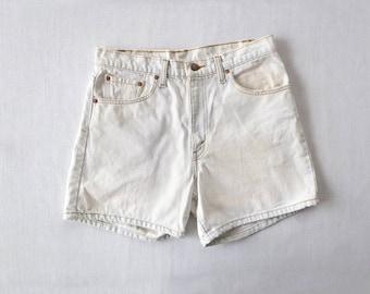 Vintage levis acid wash shorts