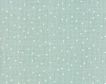 Return to Winter's Lane Mint 13174 14 by Kate & Birdie Paper Co for Moda Fabrics - Quilt, Christmas