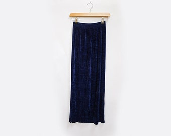 Navy Pencil Skirt S/M
