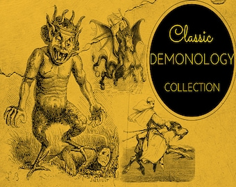 Demonology, Devil Lore, The Occult, Witchcraft & Satan - 82 Rare Old Books
