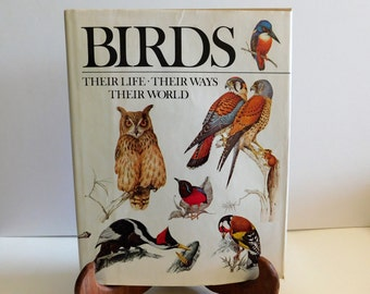 Bird Book Reader's Digest, Reference Hardcover Book, Birds, Life, Ways, World, Bird Watcher, Bird Guide, Bird Lover's Book