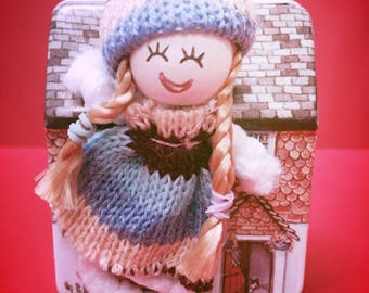 Personalised Miniature Little Miss Molly and House