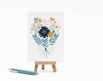 Bouquet -  Card