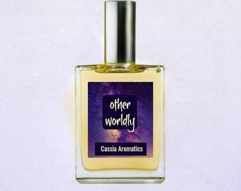 Mysterious Romantic Oil Perfume Floriental Otherworldly Jasmine, Begamot, Cedarwood