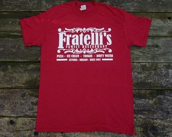 The Goonies Movie - Fratelli's Restaurant Movie T-shirt