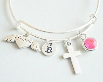 Memorial gift friend, Memorial bracelet, Memorial jewelry, Friend Bereavement gift, Friend Loss, In Memory of Friend, Sympathy Friend Gift