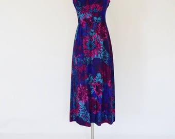 VTG Hawaiian Print Midi Dress