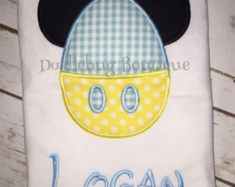 Mickey Mouse Easter egg shirt