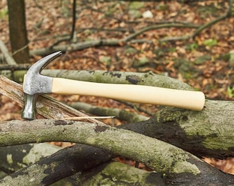 Vintage Sears claw hammer on new American Hickory handle
