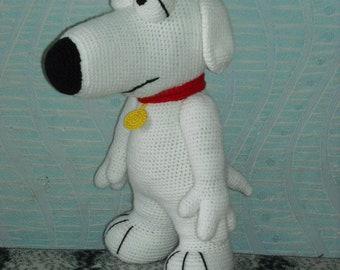 White dog crochet pattern