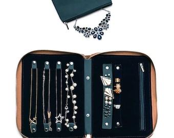 Travel jewelry case Etsy