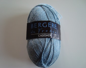 Pincushion 50g of wool CASCADE Bergère de France - needles 3 - 3.5 - acrylic-hemp