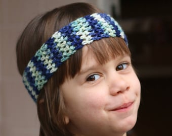 Little Boy Headband  / Long Hair Boy Headband /  Boy Band Crochet Headband / Boy Accessory / Toddler Headband / Kid Headband / Boy Hairband