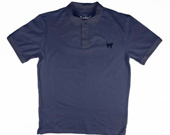CAT Embroidery Men's Polo Top