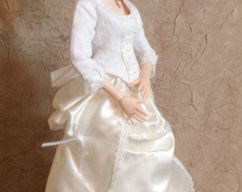 SJD Doll 1880's Period Style Dress