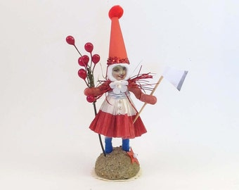 Vintage Inspired Spun Cotton Cherry Chop Figure (Limited Edition)