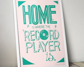 A6 Home Is Where The Record Player Is